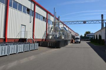 Строительство склада готовой продукции УП «Гефест-техника» по ул.Суворова в г.Бресте