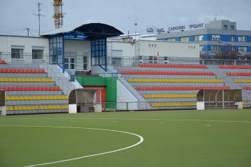 Реконструкция с частичным капитальным ремонтом стадиона «Строитель» в г.Бресте
